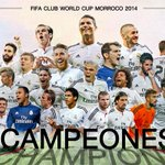 WE ARE WORLD CHAMPIONS! #HalaMadrid y nada más http://t.co/vNCeLYFpVc