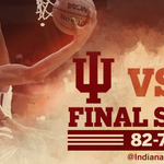 HOOSIERS WIN! @IndianaMBB defeats #23 Butler, 82–73, at the Crossroads Classic in Indianapolis. Go Hoosiers! #IUBB http://t.co/25FFQMit6Z