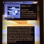 Great seeing @delgadodolphins Louis Scheuermann patriarch of NOLA baseball in @LaSportsHall. @Joescheu @tyscheuermann http://t.co/VdcR0Ato3v