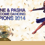 And the Strictly Come Dancing Champions 2014 are Caroline and Pasha. #SCDFinal http://t.co/mcwQODXrvn