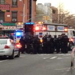 #BREAKINGNEWS: AP reports 1 NYPD officer has died, other is critical. THE LATEST: http://t.co/eQqJ5AKSVE http://t.co/RY1qz3WMvh
