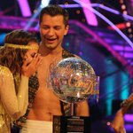 The moment @carolineflack1 and @PashaKovalev were announced Glitterball Trophy Winners 2014! #scd http://t.co/Cm4Tg1Ts8P