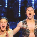 The moment @carolineflack1 @PashaKovalev heard their names being called amazing win http://t.co/QDv9aTjtRX