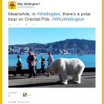 Final flashback in my 1000th follower euphoria. My first ever #WhyWellington tweet. Heres to the next 1000 followers http://t.co/umPRnOhX3Q