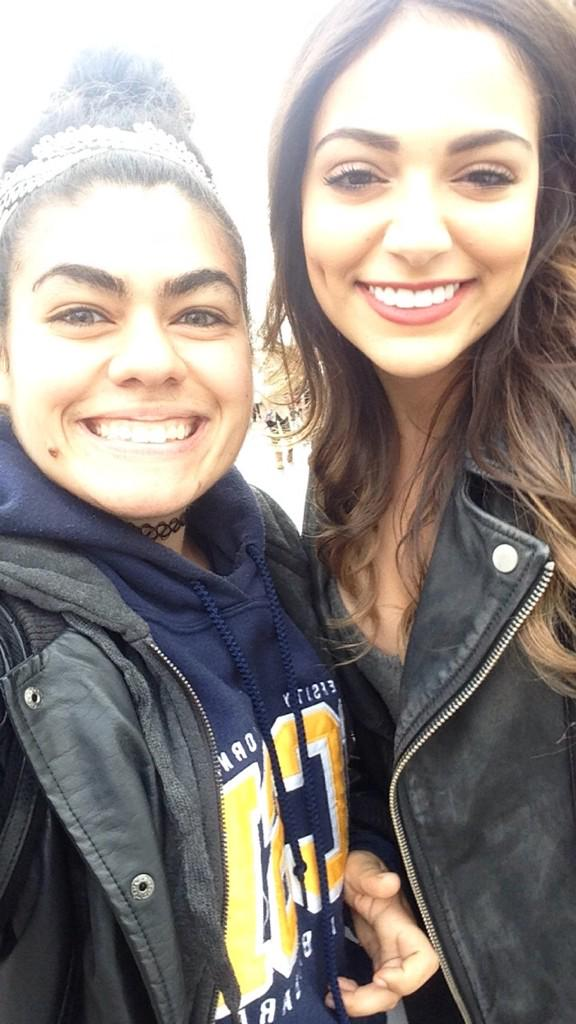 Hanging with @BethanyMota @TheGroveLA http://t.co/goT58MUqWk