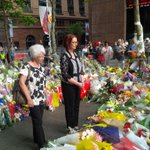 Deeply moving to pay tribute to Katrina and Tori in Martin Place in Sydney today. JG http://t.co/HbtTFqoxYA