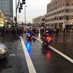 RT @BvuePD: Protesters now at Bellevue Way NE and NE 8th St. Possible traffic impacts.@BvueTrans http://t.co/yWuhzdZag8
