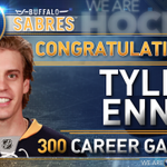 MILESTONE: Congrats to Tyler Ennis on his 300th career @NHL game tonight! #COLvsBUF http://t.co/qIxwQJi0ik