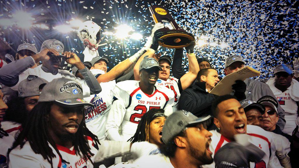 Colorado State Pueblo wins its first #NCAAD2 Football Championship in school history #unfinishedbusiness http://t.co/ymBzganrO4