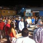 Alcalde @GilbertoSerulle comparte cena de Navidad con los moradores del antiguo Hoyo de Julia. #ConSerulleVamosBien http://t.co/jElRWkbzAY