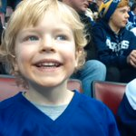 Go Leafs Go! First @Maple Leafs game for my 4 year old at the ACC. #TMLtalk http://t.co/3k8sSBQnNd
