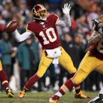 Redskins survive! Robert Griffin III leads Washington over Philadelphia, 27-24. Eagles lose their 3rd straight game. http://t.co/s78o9yCwU7