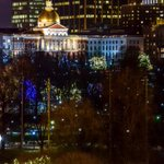December in Boston Common. #HolidaySpirit http://t.co/H2bL2Ge5NS