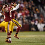 REDSKINS WIN!!! Washington upsets Philadelphia 27-24 to give Eagles 3rd straight loss and damper their playoff hopes http://t.co/31NAVn4wZQ