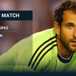 MAN OF THE MATCH Roma 0-0 Milan: Diego Lopez - http://t.co/bFBrNNxWCD | Mobile: http://t.co/9bP0v0aWWN http://t.co/fWIrZ75rlw