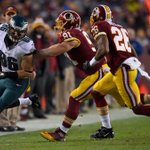 The Eagles playoff hopes take big blow in loss at Washington: http://t.co/nMoQN0ZRLX http://t.co/RRjUI0HOjA