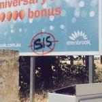 Seems the vandals in #Ellenbrook watch the news... #ebklife http://t.co/y7aDk9Z4LW