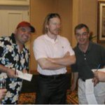Heres one from the archives: With buddy @SunGarrioch in Florida in 2007 with some long-haired Swede. http://t.co/u2IdOvuTHE