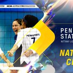 SEVENTH HEAVEN! Penn State sweeps BYU to capture record 7th National Championship! #NCAAVB http://t.co/MU1rtpWo1r