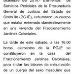 Alguien debe explicar ¿cómo zócalo supo que había un cadaver en una casa y @PGJECoahuila no lo sabia? #Saltillo http://t.co/Yppagrj3yy