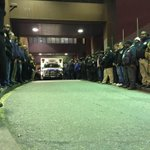 NYPD AND citizens lining up to honor fallen cops.. More than half are POC... How confused RWNJs must be by this pic. http://t.co/QOuvbwxapg