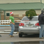 The Northstar Church in Pensacola gave away free Christmas trees to families in need. http://t.co/7AH0w2Qj0d http://t.co/ktZkWrP6om