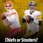#WhoWillWin: Chiefs or Steelers? http://t.co/5HXwIdW8CZ