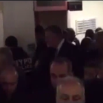 Watch what cops do as Mayor Bill de Blasio walks into press conference on slain NYPD officers: http://t.co/87GTgt95sW http://t.co/YtwDbrfYzZ