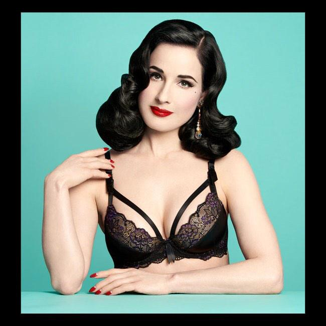 Dita Von Teese @ditavonteese: One of my bras for @DestinationMat http://t.co/hlHsMHUdA4