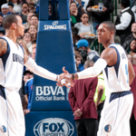 Monta Ellis goes off in final minutes to lead Mavericks to a 99-93 victory over Spurs in Rajon Rondos Dallas debut. http://t.co/2eXeRbvNbM