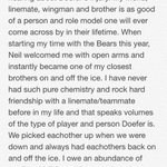 My piece on my brother and wingman @NeilDoef_19 @SFBears @doefstrong97  ❤️👬 http://t.co/eF8x6NSSOU