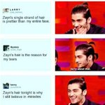 one loose strand and the whole fandom collapses #WeAreAllZayn #WeAreAllZaynFollowParty http://t.co/XiMhJfxfJe