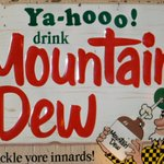Mountain Dew was created to be used as a mixer for Whiskey and the name was slang for Moonshine. http://t.co/CPKgSMZH5x