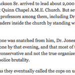 via @phillipmbailey: .@nytimes captures that infamous @DrRickyLJones takeover at Quinn Chapel. #Louisville http://t.co/akDi6sYGGe
