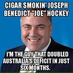@TonyAbbottMHR Budget Repair !!!!! In the hands of the worst Treasurer for 40 years !!!! http://t.co/PfMJUEWXzn