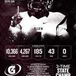 Kyler Murray: 43-0, 3-time state champion, and the greatest Texas high school QB ever? YESSIR. http://t.co/fJjADlQ2l6