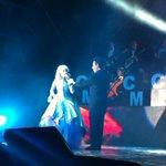 "Carlos Marín y la cantante Innocence interpretan ""The Phantom of The Opera"" . @eventoscultura @carlosmarin_ http://t.co/J3ifjW1g0W"