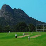 Indias latest picturesque cricket ground - the Krishnagiri Stadium at Wayanad, Kerala #RanjiTrophy #KervHyd http://t.co/PJlYqoCo3d