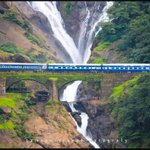 Proud of Indian Railways! The stretch between Castle Rock and Londa on Hubli-Goa route.   (Credits: Samson Joseph) http://t.co/d6dow3uD3t