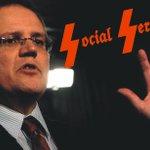 So Scott Morrison now head of SS... seems appropriate. #auspol http://t.co/0DE14Vjxgc