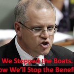 """Abbotts Plan: Stop the Benefits. """"Morrison gets SS"""" http://t.co/0slrYeFP6a #auspol New Centrelink TurnBack policy? http://t.co/PoGNLq5g93"""