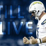 BOLT UP! Philip Rivers throws 4 TD passes to lead a 21-point comeback as Chargers beat 49ers in OT, 38-35. http://t.co/2Ad1wgX6S9