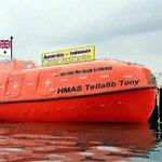 Morrison 2 use orange lifeboats 2 ship homeless & the sick up shit happens creek #cabinetreshuffle #auspol http://t.co/uYoRdNNNNK