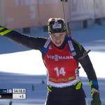 Oh elle est belle ! Victoire de KAisa Makarainen mais podium pour Anais Bescond ! Oui Nanass ! 2ème ! BRAVO !!! http://t.co/K9rsG7kizK