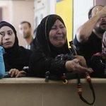 """لن ينصفنا إلا الله.. فإلى الله المشتكى""""! #معبر_رفح  #غزة http://t.co/ZAbmX8F2Pt"""