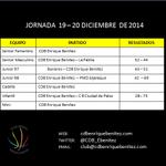 Estos son los resultados de esta semana de la cantera @CDB_EBenitez http://t.co/wwrp7wConI
