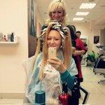 В процессе ???? #волосы #Лавелла #уфа #инстамама ))#волосы #инстамама #уфа #лавелл http://t.co/MavQQIvY0a