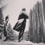 #ufa #ufa_photo #russia #bw Памятник А. Мубарякову в парке им. Матросова#ufa #bw #russia #ufa_photo http://t.co/Hc000APs7w