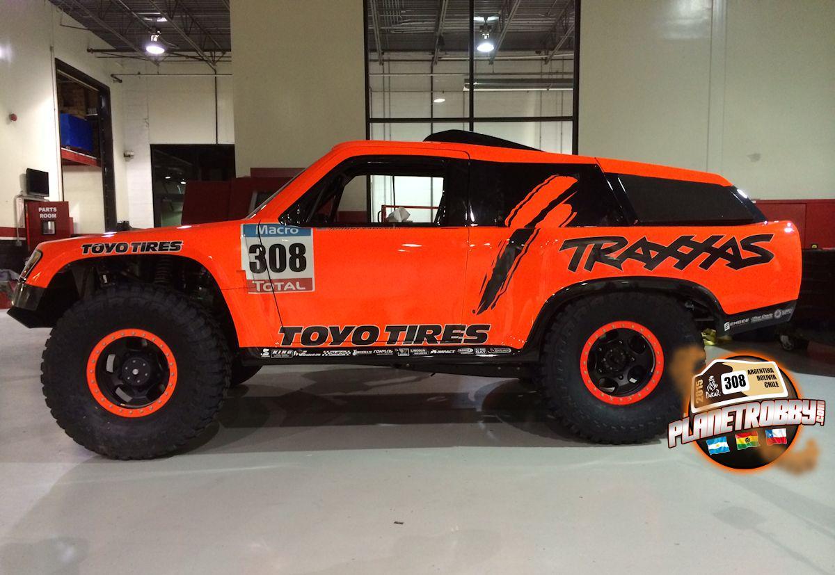 2015 Dakar Rally Prep @robbygordon @ToyoTires @SPEED_ENERGY @Traxxas #dakar http://t.co/KrEJMloDLM