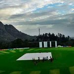 Another pic of the Krishnagiri Stadium at Wayanad, Kerala via @sajith88 #RanjiTrophy #KervHyd http://t.co/QRLD4x9Jee